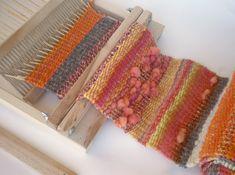 BEKA 10 rigid loom learn to weave easily / – Crochet Quilling Ideas – Crochet Quilling Ideas – weberei Types Of Weaving, Weaving Art, Weaving Patterns, Loom Weaving, Hand Weaving, Peg Loom, Textile Fiber Art, Yarn Thread, Woven Wrap
