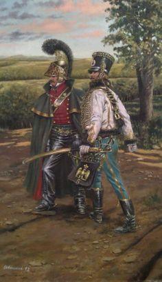 Lancer and hussar - Stefano Manni
