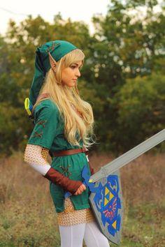 Genderbent Link ( Legend of Zelda )
