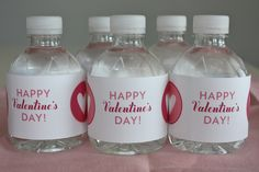 - Blonde Designs Blog - valentine water bottle labels