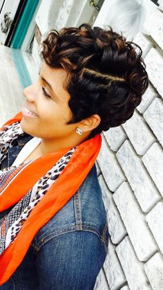 Soft and Colorful - 2015 Chic Short Haircuts for African American Women