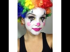Make-up Tutorial: Schmink Dich wie ein Sternenclown zu Fasching mit buttinette - YouTube