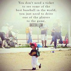 Do you believe in baseball?