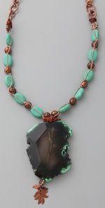 cynthia dugan - agate pendant necklace