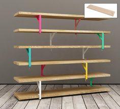 repisas con tablas de madera - Buscar con Google