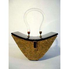 ... Lucite Handbag Purse -  handbags vintage lucite 1950s