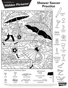 2016년 4월 숨은그림찾기 2편, 어린이 숨은그림찾기, Hidden Pictures : 네이버 블로그 Hidden Picture Games, Hidden Picture Puzzles, Hidden Photos, Kindergarten Activities, Activities For Kids, Outdoor Activities, Highlights Hidden Pictures, Hidden Pictures Printables, Coloring Books