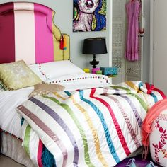 Retro bedroom | Bedroom ideas for teenage girls | Decorating ideas for girls rooms | PHOTO GALLERY | Housetohome