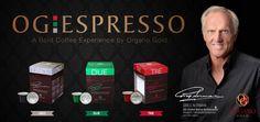 """#OGEspressoKapseln kannst du in """"Nespresso-Kaffeemaschinen"""" verwenden.  #UNO: 97 % Arabica Kaffee + 3 % Ganoderma Lucidum Pulver, 1,38 Koffeingeahlt  #DUE: eine Mischung aus Arabica und Robusta Kaffee + 3 % Ganoderma Lucidum Puver, 1,72 % Koffeingehalt  #TRE: 97 % gemahlener, gerösteter Kaffee + 3 % Ganoderma Lucidum Pulver, 1,97 % Koffeingehalt"""