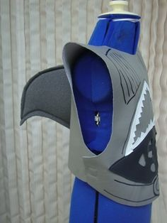 SHARK BOY COSTUME Authentic FUN by cybersewingfairy on Etsy