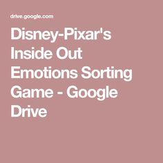 Disney-Pixar's Inside Out Emotions Sorting Game - Google Drive