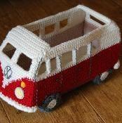 Crochet your own model Campervan - via @Craftsy