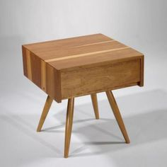 End Table with Drawer, 1956 by George  Nakashima
