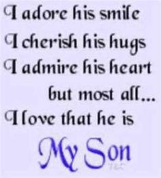 My boys are mine because I married their daddy... I am blessed that they call me mom and think of me as their mom.  More blessed that they remind me daily of this.....I love you A & J !!!!!