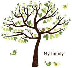 baby handprint tree | Family