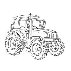 ausmalbilder traktor new holland | ausmalbilder traktor
