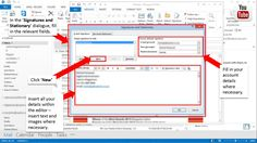How to create and add an email signature in Outlook
