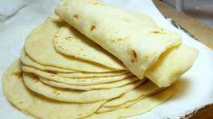 How to make Soft Flour Tortillas - Como Hacer Tortillas A Mano