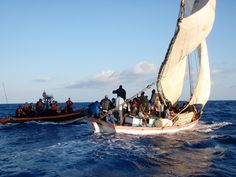 Arrivals from Libya reminiscent of those of Haitians in Florida