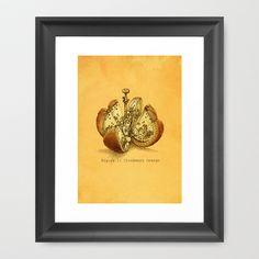 Clockwork Orange  (color option) Framed Art Print by Eric Fan - $35.00