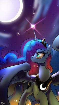 My Little Pony: Friendship is Magic: Image Gallery Mlp My Little Pony, My Little Pony Friendship, Celestia And Luna, Little Poni, Princess Twilight Sparkle, Nightmare Moon, Cute Ponies, Celebration Day, Mlp Fan Art