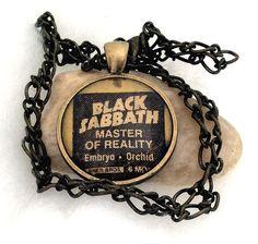Vintage Black Sabbath Master Of Reality Album by mardeejewelry