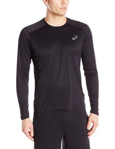 ASICS Men's Lite Show Long Sleeve Top * Awesome product. Click the image : Sports Fitness Clothing