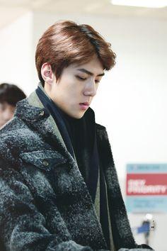 Gimpo Airport to Busan 151215 : Sehun