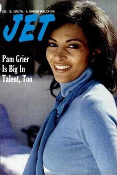Pam Grier on the cover of Jet magazine, December 1976.