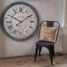 Annie Mos Home Accessories Clocks Mirror Backed Clock