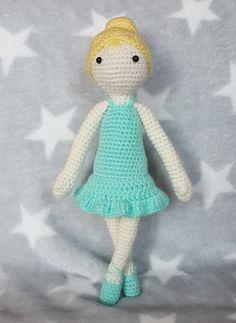 Weiche Puppe☆Soffpuppe, Waldorfpuppe, Häkelpuppe, Ballerina, Amigurumi, Mädchen in Spielzeug, Puppen & Zubehör, Stoffpuppen | eBay!