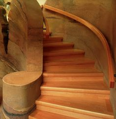 Rammed Earth STAIRS!  I'm in love<3