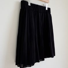 BCBGeneration Black Pleated Mini Skirt Used in Excellent Condition/ No Trades/ No PayPal/ Size M/ Offers Welcome BCBGeneration Skirts Mini