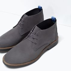 LEATHER DESERT BOOT-Shoes-Man-SHOES & BAGS | ZARA United States
