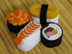 Sushi towels / Chic Gift & Souvenir