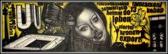 """""""Dortmund"""" Größe: 150cm x 50cm auf Leinwand Material: Airbrush, Marker Ort/Jahr: Bergkamen/2013 Preis auf Anfrage"""