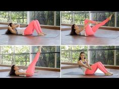 7 Exercises For A Flat Stomach At Home | Fitness With Namrata Purohit - YouTube