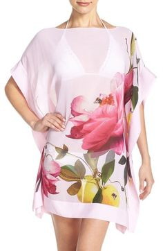 Ted Baker London 'Citrus Bloom' Cover-Up Tunic available at #Nordstrom
