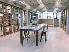 A look inside the new Nashville Warby Parker store!