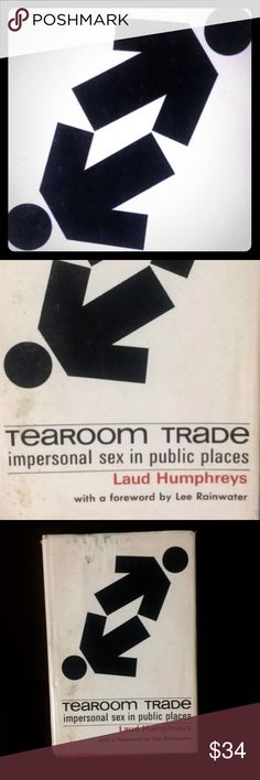 1st Ed. Tearoom Trade by Laud Humphrey's First Edition hardback Tearoom Trade by Laud Humphrey's book. Copyright 1970. Decent vintage condition. Can't find another one currently for sale! This same book has sold recently on other sites for over $80! Get it while you can! Vintage Other