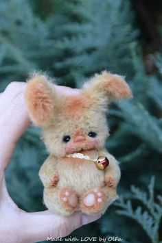 Bunny Delicious Caramel By OlFa - Bear Pile