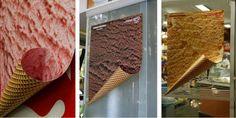 Image Spark  - carolzarur - ice cream advertising - ads -adv - creative