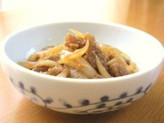 ∮Sweet and Spicy✰彡 Stir-fried Konyaku and Onion with Ginger∮