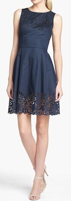 Laser cut denim dress http://rstyle.me/n/edckunyg6