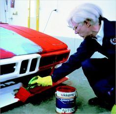 (Andy Warhol painting BMW M8 (1979))
