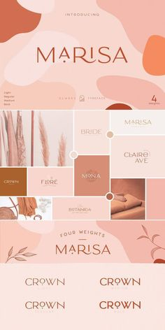 Classy Marisa is a minimalist vintage font with beautiful ligatures, tons of special alternative glyphs, ornament and multilingual support. It's a very versatile font that works great in large and… Source by clothes logo Logos Vintage, Mode Vintage, Graphics Vintage, Vintage Typography, Vector Graphics, App Design, Vector Design, Logos Photography, Logo Floral