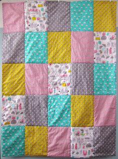 5x5 Monsterz Quilt by Michelle Engel Bencsko | Cloud9 Fabrics, via Flickr