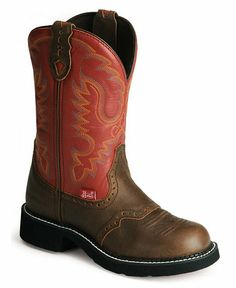 Justin waterproof Gypsy cowgirl boots