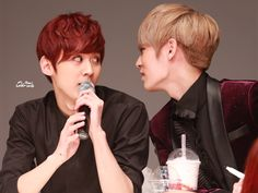 Teen Top | Chunji & L.Joe | 140929 | Sinchon Fansign | tumblr | © ai_chani | do not edit