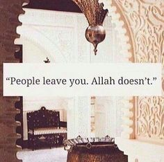 Oh Allah, please always be with me and return those who are dear to my heart back to me :)
